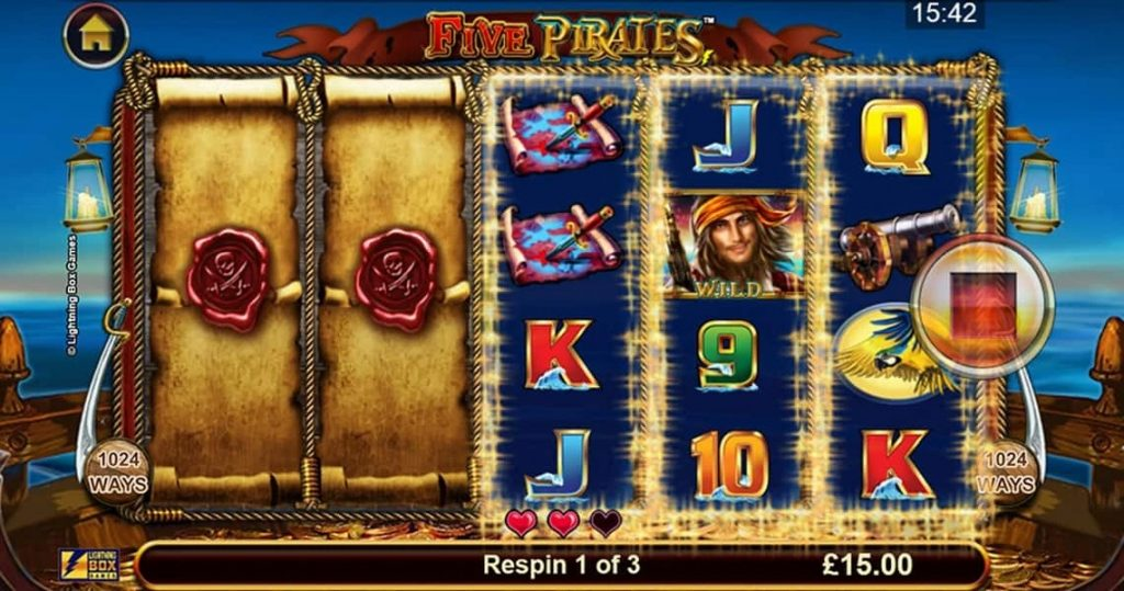 How to Play Five Pirates